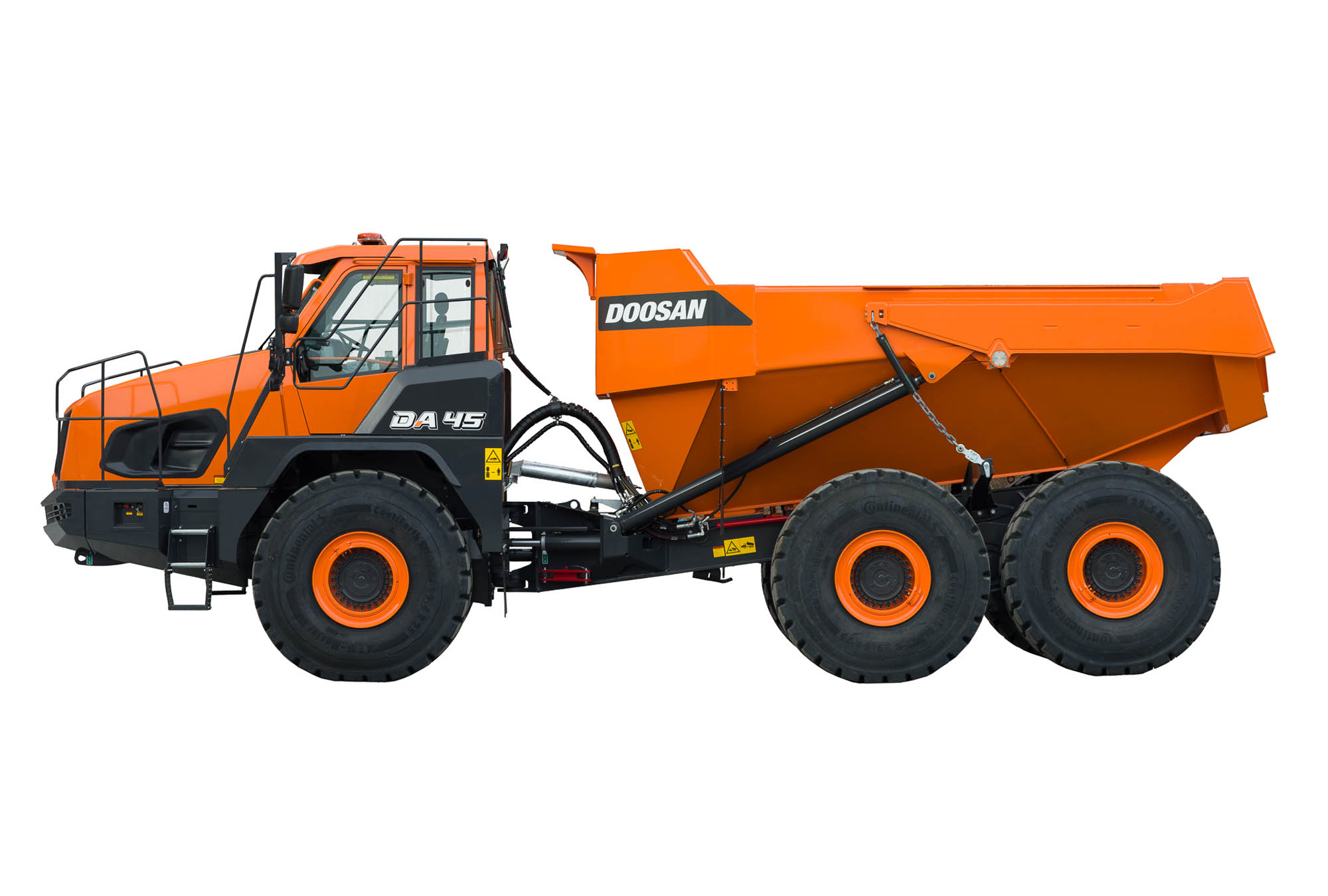 Articulated Dump Trucks Doosan Infracore Europe
